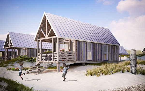 Nederland Strandhuisjes - Noordzee Beach Village